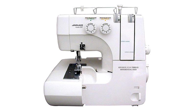 maquina coser overclock jaguar
